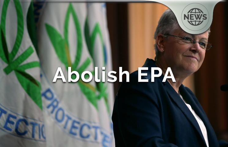 Donald Trump's Executive Order Plan To Abolish The EPA