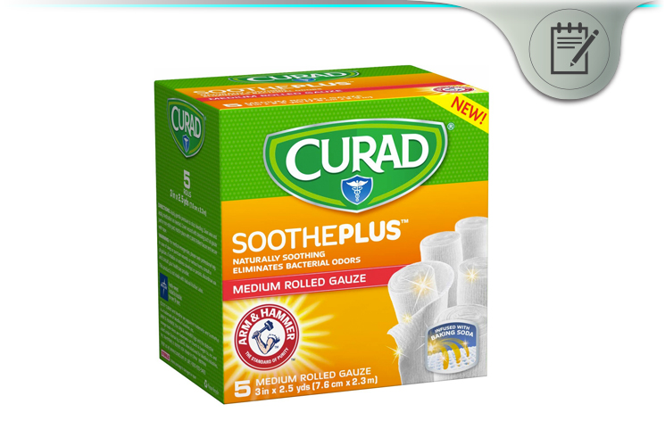 Curad Soothe Plus Rolled Gauze