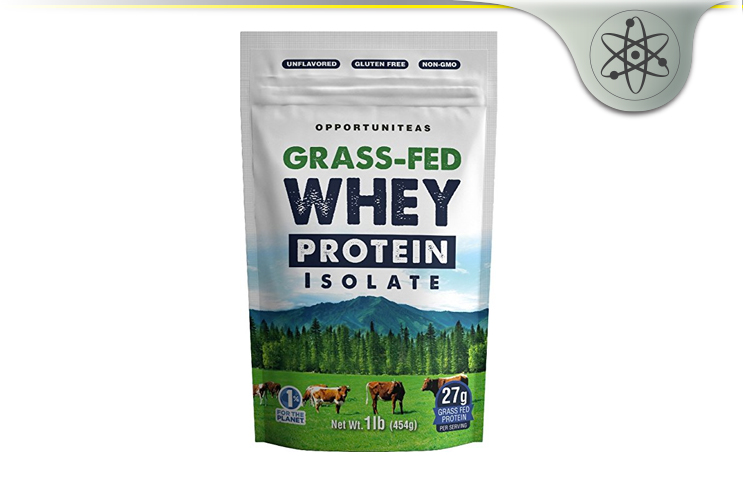 Opportuniteas Grass Fed Whey Protein Isolate