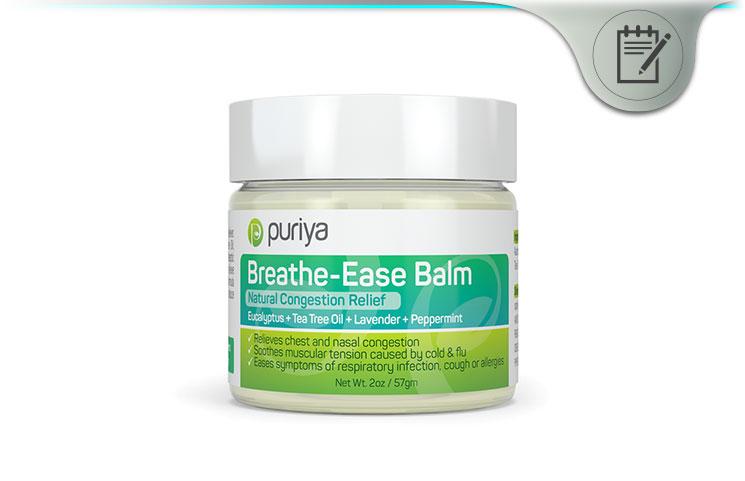 Puriya Breathe Ease Balm
